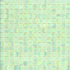 "<strong>Surfaces</strong> Elida Glass 13"" x 13""  Mosaic in Spearmint"