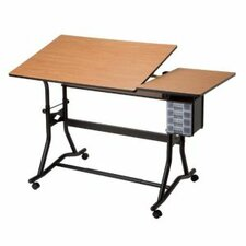 <strong>Alvin and Co.</strong> Titan II Split Melamine Drafting Table
