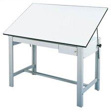 DesignMaster Melamine Drafting Table