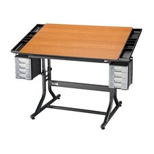 <strong>Alvin and Co.</strong> CraftMaster II Wood Drafting Table