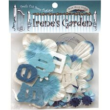 <strong>Alvin and Co.</strong> Irene's Garden Potpourri Paper Flower and Embellishment Pack (Set of 30)
