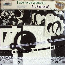 Treasure Chest Embellishment Paper Pack
