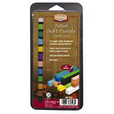 Landscape Soft Pastels Set (Set of 12)