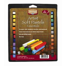 Artist Soft Pastels Set (Set of 24)