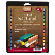 Landscape Soft Pastels (Set of 24)