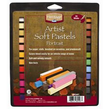 Portrait Soft Pastels Set (Set of 24)