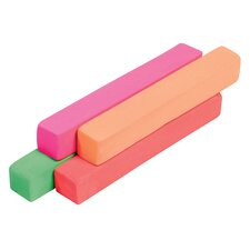 Fluorescent Soft Pastels Set (Set of 4)