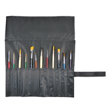 Roll Up Brush Holder for Short Brushes