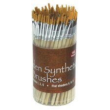 Synthetic Brush Assortment (Set of 144)