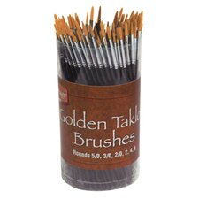 Taklon Brush Assortment (Set of 144)