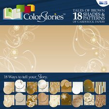 <strong>Alvin and Co.</strong> ColorStories Paper Pack (Set of 18)