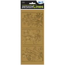 <strong>Alvin and Co.</strong> Designlines Transfer Sheet (Set of 2)