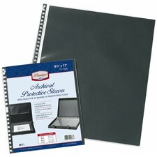 Archival Protective Sleeve Refill Pages (Set of 5)