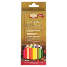 Colored Pencil Set (Pack of 24)