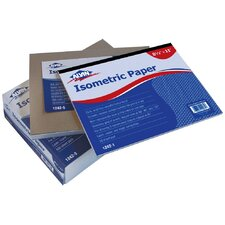 Isometric Paper Pad (Set of 500)