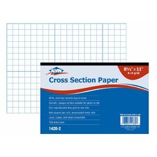 <strong>Alvin and Co.</strong> Cross Section Paper Grid Pad (Set of 100)