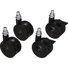 Four Piece Caster Set Compatible with Crimson Portable Stand