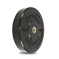 Solid Rubber Bumper Plates - 1 Pair of 45 lb Plates