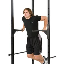 Half Rack Dip Station Bars