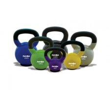 Vinyl Coated Kettlebell Complete Set