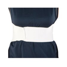 "<strong>ATSurgicalCompany</strong> 9"" Tri-Panel Abdominal Binder in White"