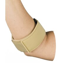 Tennis Elbow Brace  in Beige with Adjustable Neoprene Pads