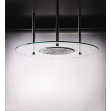 Domani Round Glass Shower Head