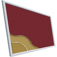 <strong>Best-Rite®</strong> Fabric Covered Add-Cork Tackboards