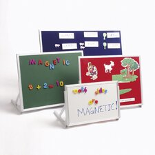 <strong>Best-Rite®</strong> Magnetic Feltboard/Magnetic Markerboard Language Easel