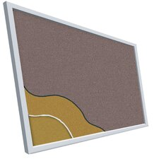 <strong>Best-Rite®</strong> Vinyl-Covered Cork Plate Tackboard Series 713 - Aluminum Trim