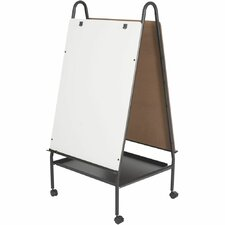 Double Sided Adjustable Mobile Easel, 'Wheasel'
