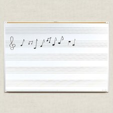 <strong>Best-Rite®</strong> Porcelain Lifetime Music Boards 4' x 10'