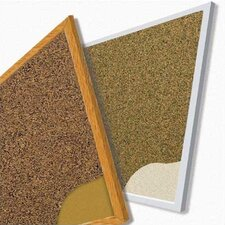 <strong>Best-Rite®</strong> Splash-Cork Tackboards - Aluminum Trim