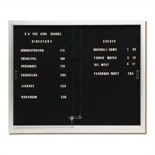 Deluxe Directory Board Sliding Doors