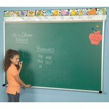 <strong>Best-Rite®</strong> Porcelain Steel Chalkboards - Aluminum Trim