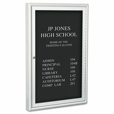 Enclosed Directory Chalkboard