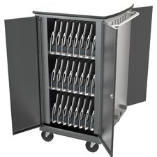 32-Compartment iTeach High Capacity Sync and Charge Cart
