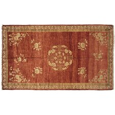 Semi Antique Oushak Rug
