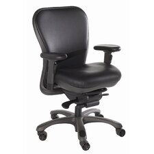 <strong>Nightingale Chairs</strong> Mid-Back Leather CXO Executive Chair