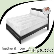 <strong>BioPEDIC</strong> Executive Suite 100% Cotton Feather / Fiber Bed with Pillows