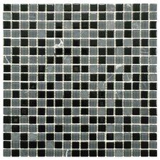 Ambit Glass and Stone Mosaic Tile in Citadel
