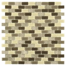 Ambit Glass and Stone Mosaic Tile in Aegis
