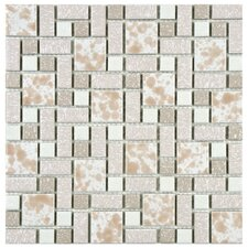 Academy Random Sized Porcelain Mosaic in Pink