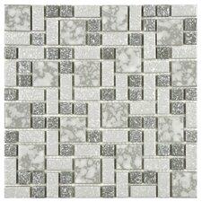 Academy Random Sized Porcelain Mosaic in Grey