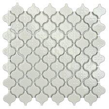 """Beacon Mini 1-1/2"""" x 1-3/8"""" Porcelain Mosaic Tile in Glossy White"""