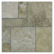 "<strong>EliteTile</strong> Sunrise 13.5"" x  13.5"" Porcelain Floor and Wall Tile in Sand"