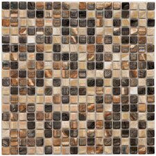 "Arcadia 9/16"" x 9/16"" Glazed Porcelain Mosaic in Highlands"