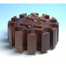 Walnut 300 Chip Rack