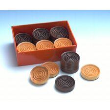 "1.25"" Wood Checkers"