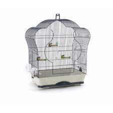 Elise 40 Bird Cage in Navy Blue